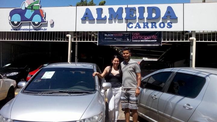 Cliente Almeida Carros: Leonardo da Silva Assis - Honda Civic LXS 2009