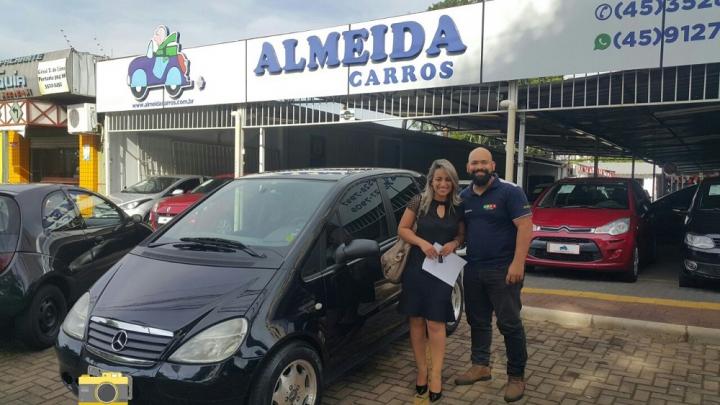 Cliente Almeida Carros: Carol Thana - Mercedes Classe A