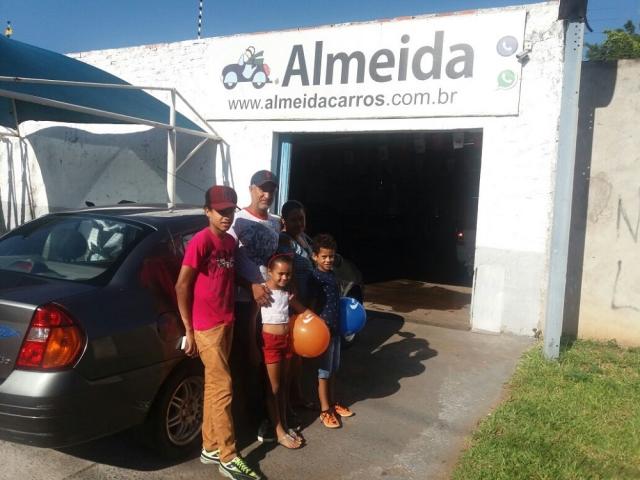 Cliente Almeida Carros: Odair Aparecido Mendes - Clio 2000/01